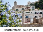 Old Town In Ibiza