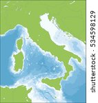 italy is a unitary... | Shutterstock . vector #534598129