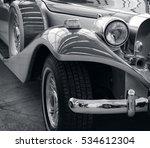 stunning retro car. stylish... | Shutterstock . vector #534612304