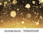 Golden Sparkles Or Glitter...