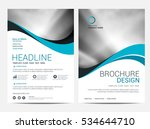 brochure or flyer design... | Shutterstock .eps vector #534644710