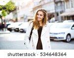 outdoor lifestyle portrait of... | Shutterstock . vector #534648364