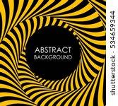 spiral lines vector abstract... | Shutterstock .eps vector #534659344