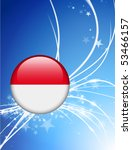 monaco flag button on abstract... | Shutterstock .eps vector #53466157