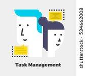 task management icon. material... | Shutterstock .eps vector #534662008
