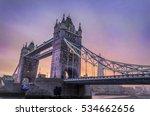 Tower Bridge In The Evening...