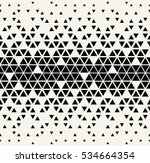 abstract geometric black and... | Shutterstock .eps vector #534664354