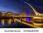 The Harp Bridge Dublin City