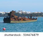 Ship Wreck In St George Harbou...