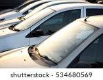 used car dealership cars in a... | Shutterstock . vector #534680569