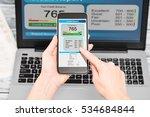 report credit score banking... | Shutterstock . vector #534684844