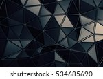 abstract 3d rendering of... | Shutterstock . vector #534685690