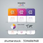 infographic design vector and... | Shutterstock .eps vector #534686968