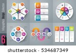 infographic design vector and... | Shutterstock .eps vector #534687349
