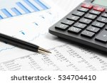 financial accounting stock... | Shutterstock . vector #534704410