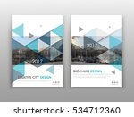 abstract binder layout. white... | Shutterstock .eps vector #534712360