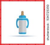 bottle vector icon | Shutterstock .eps vector #534725350