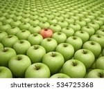 different apple | Shutterstock . vector #534725368