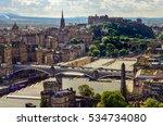 Scenic View Of Edinburgh...