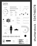 detail infographic collection... | Shutterstock .eps vector #534748378