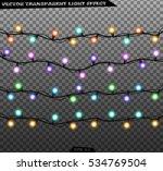 vector isolated garland...   Shutterstock .eps vector #534769504