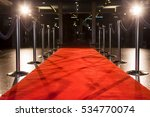 Red Carpet Between Rope...
