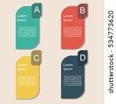 banner infographics | Shutterstock .eps vector #534773620