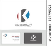 Logo Design Element With Two...