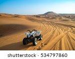 offroad desert safari in dubai. ... | Shutterstock . vector #534797860