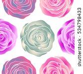 hand drawn vector seamless...   Shutterstock .eps vector #534798433