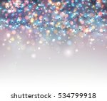 fairy lights for festive... | Shutterstock .eps vector #534799918