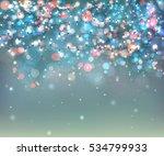 fairy lights for festive... | Shutterstock .eps vector #534799933