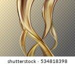 soft liquid foundation texture... | Shutterstock .eps vector #534818398