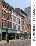 vintage main street type... | Shutterstock . vector #534820240