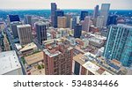 downtown denver co from 14th... | Shutterstock . vector #534834466