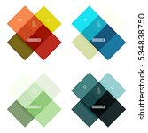 colorful stripes infographic... | Shutterstock .eps vector #534838750