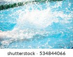 blurry background of splash... | Shutterstock . vector #534844066