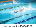 blurry background of splash... | Shutterstock . vector #534844528