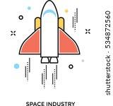 rocket vector icon | Shutterstock .eps vector #534872560