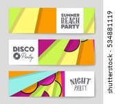 abstract vector layout... | Shutterstock .eps vector #534881119