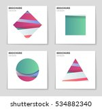 abstract vector layout... | Shutterstock .eps vector #534882340