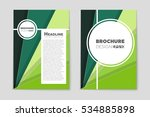 abstract vector layout... | Shutterstock .eps vector #534885898