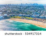 bondi beach from helicopter ... | Shutterstock . vector #534917314