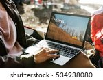travel holiday destination trip ... | Shutterstock . vector #534938080