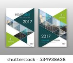 abstract binder layout. hi tech ... | Shutterstock .eps vector #534938638