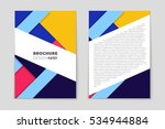 abstract vector layout... | Shutterstock .eps vector #534944884