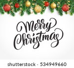 vector holiday background with... | Shutterstock .eps vector #534949660