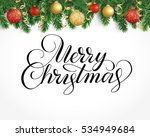 vector holiday background with... | Shutterstock .eps vector #534949684