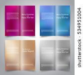 brochure design templates set...   Shutterstock .eps vector #534951004