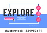 online holiday reservation... | Shutterstock . vector #534953674